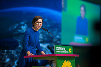DEU, Deutschland, Germany, Leipzig, 10.11.2018: Dr. Hannah Neumann, gewählt auf Listenplatz 5 zur Europawahl, beim Bundesparteitag von BÜNDNIS 90/DIE GRÜNEN, Messe Leipzig. Auf dem Parteitag wurden die KandidatInnen für die Europawahl im Mai 2019 gewählt.