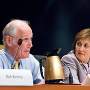 """Panel: FAA Response on 9/11. The 9/11 Commission's 12th public hearing on """"The 9/11 Plot"""" and """"National Crisis Management"""" was held June 16-17, 2004, in Washington, DC."""