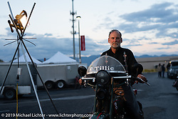 George Unruh on his 1924 Harley-Davidson JDCA in the Motorcycle Cannonball coast to coast vintage run. Stage 12 (242 miles) from Great Falls to Kalispell, MT. Thursday September 20, 2018. Photography ©2018 Michael Lichter.