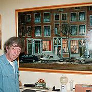 Tol Hansse versproncklaan 23 Heerhugowaard voor schilderij door hem gemaakt