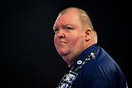 John Henderson (Scotland) during the William Hill World Darts Championship at Alexandra Palace, London, United Kingdom on 20 December 2020.