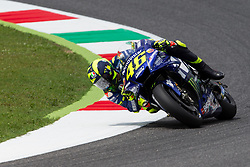 June 1, 2018 - Scarperia, Imola, Italy - Valentino Rossi of Movistar Yamaha MotoGP during the Free Practice 2 of the Oakley Grand Prix of Italy, at International  Circuit of Mugello, on June 01, 2018 in Mugello, Italy  (Credit Image: © Danilo Di Giovanni/NurPhoto via ZUMA Press)