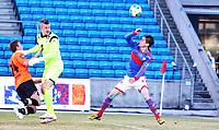 Fotball<br /> Tippeligaen<br /> Ullevål Stadion 01.04.13<br /> Vålerenga VIF - Sogndal<br /> Torgeir Børven scorer etter kollisjon mellom Erik Dahlin og Eirik Skaasheim<br /> Foto: Eirik Førde