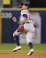 CHICAGO - JUNE 28:  Ehire Adrianza #13 of the Minnesota Twins fields against the Chicago White Sox on June 28, 2019 at Guaranteed Rate Field in Chicago, Illinois.  (Photo by Ron Vesely)  Subject:  Ehire Adrianza