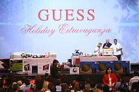 19 December 2009: Guess? Inc. Employee Holiday Party at Corporate Office. Candid photos indoors and outside.  Images are for internal and personal use only. No releases available, No Third Party Use without photographer and client permission.