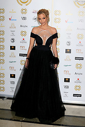 attends the National Film Awards at the Porchester Hall in London, UK. 28 Mar 2018 Pictured: Sarah Harding. Photo credit: MEGA TheMegaAgency.com +1 888 505 6342