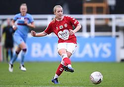 Flo Allen of Bristol City Women - Mandatory by-line: Ryan Hiscott/JMP - 13/12/2020 - FOOTBALL - Twerton Park - Bath, England - Bristol City Women v West Ham United Women - Barclays FA Women's Super League