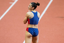 Ivana Spanovic of Serbia during the Long Jump Women Qualification on day two of the 2017 European Athletics Indoor Championships at the Kombank Arena on March 4, 2017 in Belgrade, Serbia. Photo by Vid Ponikvar / Sportida