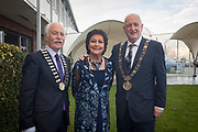 NO FEE PICTURES<br /> 25/1/19 Lord Mayor of Dublin Nial Ring at the Holiday World Show at the RDS Simmonscourt in Dublin. Picture; Arthur Carron