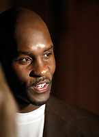 Jun 27, 2004; Los Angeles, CA, USA; NBA LIfetime Achievement Award Honoree GARY PAYTON being interviewed by the news media @ The 19th Annual Cedars-Sinai Sports Spectacular inside the Century Plaza Hotel in Century City, CA.  Mandatory Credit: Photo by Shelly Castellano/ZUMA Press. (©) Copyright 2004 by Shelly Castellano