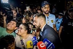 Portugal Team Returns after the defeat - 01 July 2018