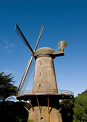 California: San Francisco. Dutch windmill in Golden Gate Park. Photo copyright Lee Foster. Photo #: 25-casanf75829