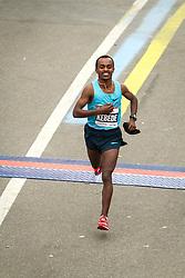 ING New York CIty Marathon: Tsegaye Kebede, Ethiopia, takes second to win the World Marathon Majors championship worth $500,000
