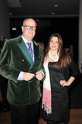 TOM KENYON-SLANEY and NADINE PARK at a dinner in aid of Save The Rhino held at The Battlebridge Room, Kings Place, London N1 on 20th October 2010.