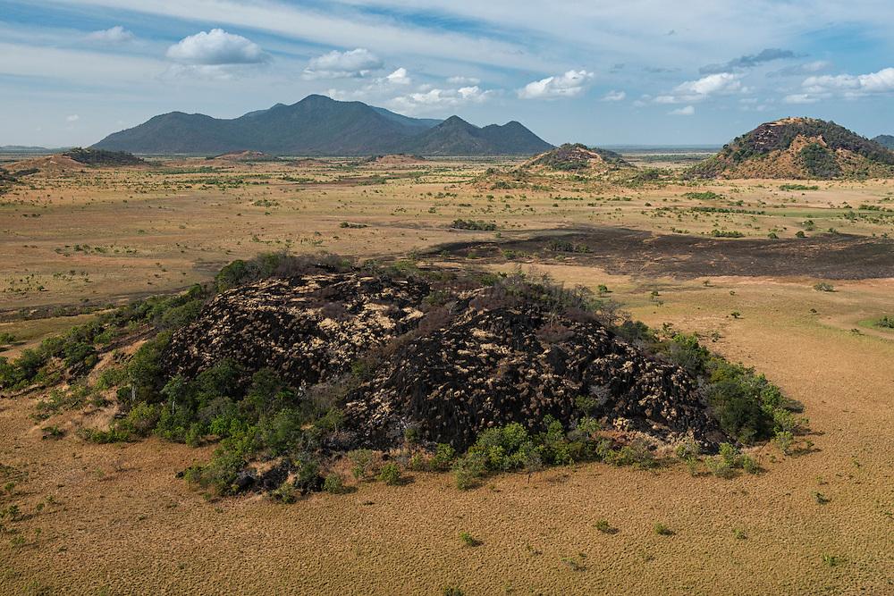 Granite Outcrop<br /> Savanna <br /> South Rupununi<br /> GUYANA<br /> South America