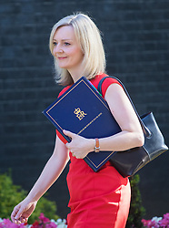 Downing Street, London, July 19th 2016. Justice Secretary and Lord Chancellor Liz Truss arrives at the first full cabinet meeting since Prime Minister Theresa May took office.