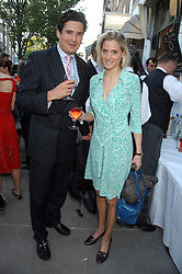EDWARD TAYLOR and NATALIE HICKS-LOBBECKE at the launch of The Rupert Lund Showroom, 61 Chelsea Manor Street, London SW3 on 2nd May 2007.<br /><br />NON EXCLUSIVE - WORLD RIGHTS