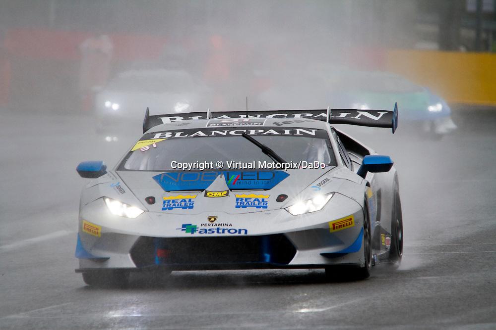 #31, Lamborghini Huracán, Imperiale Racing, S.Pellegrinelli , Lamborghini BlancPain Super Trofeo 2015