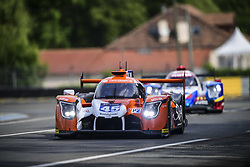 June 4, 2017 - Le Mans, France - 45 ALGARVE PRO RACING (PRT) LIGIER JSP217 LMP2 VINCENT CAPILLAIRE (FRA) MATTHEW MCMURRY (USA) MARK PATTERSON (USA) DEAN KOUTSOUMIDIS  (Credit Image: © Panoramic via ZUMA Press)