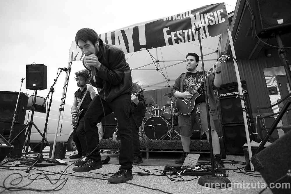 Abaasy performs at the MayDay Micro Music Festival on May 6, 2017 at the Visual Art Collective in Garden City, Idaho. <br /> <br /> Bands: Abaasy, a.k.a. Belle, Black Bolt, Brett Netson, Cerberus Rex, Faded Leroy, Glenn Mantang & the GOV, Groggy Bikini, The Hand, The Lost Men, Lyonsdale, Star Warrior.<br /> <br /> Abaasy members: Josh Meyer (lead vocals), Gabe Hodges (lead guitar), Daniel Vasquez (guitars), Jevin Brogan-Winter (bass), Kevin Tillman (drums). Hometown: Boise, Idaho.