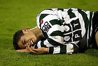 20021115: LISBON, PORTUGAL - Cristiano Ronaldo playing for Sporting Lisbon. <br /> PHOTO: CITYFILES