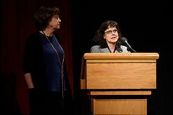 """Betsy West and Julie Cohen of the Oscar® nominated documentary feature """"RBG"""" during the Academy of Motion Picture Arts and Sciences' """"Oscar Week: Documentaries"""" event on Tuesday, February 19, 2019 at the Samuel Goldwyn Theater in Beverly Hills. The Oscars® will be presented on Sunday, February 24, 2019, at the Dolby Theatre® in Hollywood, CA and televised live by the ABC Television Network."""