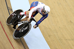 Great Britain's Jason Kenny in the Team Sprint Men's race during day two of the 2018 European Championships at the Sir Chris Hoy Velodrome, Glasgow. PRESS ASSOCIATION Photo. Picture date: Friday August 3, 2018. See PA story CYCLING European. Photo credit should read: John Walton/PA Wire. RESTRICTIONS: Editorial use only, no commercial use without prior permissionduring day two of the 2018 European Championships at the Sir Chris Hoy Velodrome, Glasgow. PRESS ASSOCIATION Photo. Picture date: Friday August 3, 2018. See PA story CYCLING European. Photo credit should read: John Walton/PA Wire. RESTRICTIONS: Editorial use only, no commercial use without prior permission