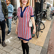 NLD/Amsterdam/20150714 - Opening tentoonstelling Selwyn Senatori, Eva Bartels