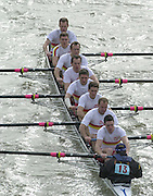 London, Great Britain, Tideway Scullers School. 2002 Head of the River Race Championship Course Chiswick [Mortlake] to Putney. River Thames. Saturday, [Mandatory Credit. Peter SPURRIER/Intersport Images. 20020323. Head of the River Race, London. UK.