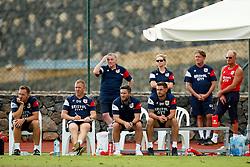 Bristol City coaches Rhys Carr, Dean Holden, Lee Johnson, Jamie McAllister - Mandatory by-line: Matt McNulty/JMP - 22/07/2017 - FOOTBALL - Tenerife Top Training - Costa Adeje, Tenerife - Bristol City v Atletico Union Guimar  - Pre-Season Friendly