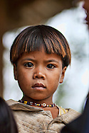 Portraiture of a tough kid. He belongs to the Co Thu minority, in central Vietnam's highlands.