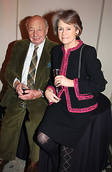 MR & MRS JOHN RITCHIE, he is the father of Guy Ritchie husband of pop star Madonna at a party to launch 'Beauty Week' at the V&A in association with Estee Lauder- a special week of debates, talks and performances celebrating beauty on 24th January 2005.<br /><br />NON EXCLUSIVE - WORLD RIGHTS