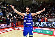 Stefano Gentile<br /> Oriora Pistoia - Banco di Sardegna Dinamo Sassari<br /> LBA Serie A Postemobile 2018-2019<br /> Pistoia, 04/01/2020<br /> Foto L.Canu / Ciamillo-Castoria