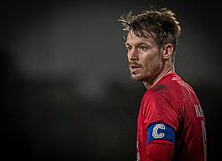 Nikolaj Hansen (FC Helsingør) under kampen i 1. Division mellem Viborg FF og FC Helsingør den 30. oktober 2020 på Energi Viborg Arena (Foto: Claus Birch).