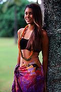 Polynesian girl, Hawaii