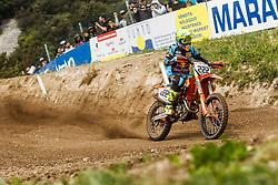 Antonio Cairoli #222 of Italy during MXGP Trentino Saturday Practice, round 5 for MXGP Championship in Pietramurata, Italy on 15th of April, 2017 in Italy. Photo by Grega Valancic / Sportida