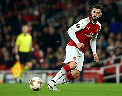 Sead Kolasinac of Arsenal - Mandatory by-line: Robbie Stephenson/JMP - 15/03/2018 - FOOTBALL - Emirates Stadium - London, England - Arsenal v AC Milan - UEFA Europa League Round of 16, Second leg