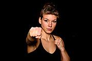 "Boxen: Giants Professional Boxing, Hamburg, 16.04.2021<br /> Nine ""The BRave"" Meinke (GER)<br /> © Torsten Helmke"