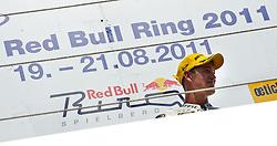 21.08.2011, Red Bull Ring, Spielberg, AUT, IDM Spielberg, im Bild Sieger im ersten Rennen Michael Ranseder, (AUT, IDM Superbike) // during the IDM weekend on the Red Bull Circuit in Spielberg, 2011/08/21, EXPA Pictures © 2011, PhotoCredit: EXPA/ S. Zangrando