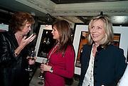 CILLA BLACK; LESLEY CLARKE; LARRAINE ASHTON; Teens;)Unite Fighting Cancer charity art auction. The Embassy Club. 6 April 2010