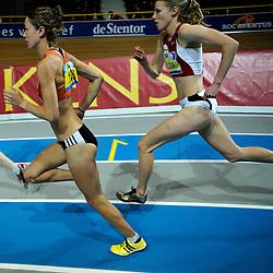 07-02-2010 ATLETIEK: NK INDOOR: APELDOORN<br /> Yvonne Hak en Machteld Mulder<br /> ©2010-WWW.FOTOHOOGENDOORN.NL