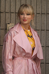 Singer Taylor Swift is arriving at NRJ Studios to record an interview in Paris, France, on May 25, 2019. Photo by ABACAPRESS.COM