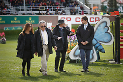Royce Victor, (CEO Rolex Canada), Arnaud Boetsch, (communication and Image Director)<br /> Rolex Grand Slam of Show Jumping Cup <br /> Spruce Meadows Masters - Calgary 2015<br /> © Hippo Foto - Dirk Caremans<br /> 13/09/15