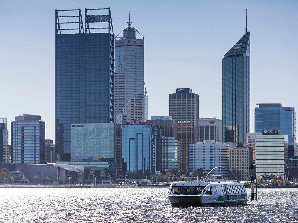 Images of Perth CBD and the surrounding areas.