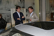 HUD MORGAN AND ANDERS BERNUNGER, De Grisogono & Londino Car Rally  party. <br />
