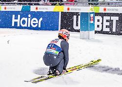 01.03.2019, Seefeld, AUT, FIS Weltmeisterschaften Ski Nordisch, Seefeld 2019, Skisprung, Herren, im Bild Karl Geiger (GER) // Karl Geiger of Germany during the men's Skijumping of FIS Nordic Ski World Championships 2019. Seefeld, Austria on 2019/03/01. EXPA Pictures © 2019, PhotoCredit: EXPA/ JFK