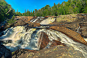 Waterfalls on the Sand River<br /> <br /> Lake Superior Provincial Park<br /> Ontario<br /> Canada