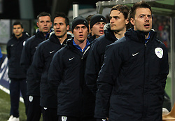 Aleksander Seliga at the 8th day qualification game of 2010 FIFA WORLD CUP SOUTH AFRICA in Group 3 between Slovenia and Czech Republic at Stadion Ljudski vrt, on March 28, 2008, in Maribor, Slovenia. Slovenia vs Czech Republic 0 : 0. (Photo by Vid Ponikvar / Sportida)