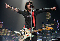 Green Day performs at the Sommet Center in Nashville, Tennessee on Friday, July, 2009. (Photo by Frederick Breedon) Photo © Frederick Breedon. All rights reserved. Unauthorized duplication prohibited.