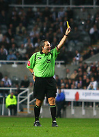 Photo: Andrew Unwin.<br /> Newcastle United v Bolton Wanderers. The Barclays Premiership. 15/10/2006.<br /> The referee, Alan Wiley.